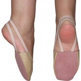 Цвички за балет и художествена гимнастика бежови