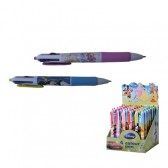 Химикалка Disney 4 цвята 8 вида дисплей