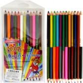 Моливи 12 броя 24 цвята  yoky