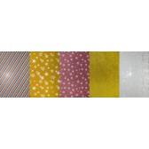 Картон брокат с мотиви А4 10 дизайна комплект