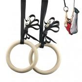 Халки за гимнастика с ремъци комплект