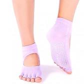 Чорапи йога отворени пръсти